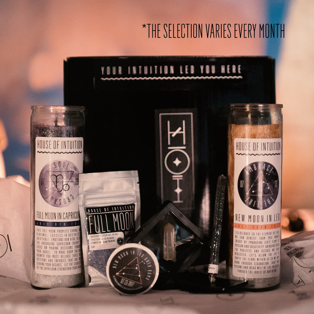 House of Intuition Moon Box Subscription - House of Intuition