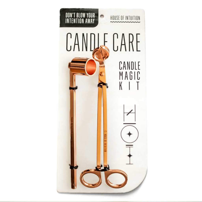 Candle Care Kit - Rose Gold - House of Intuition