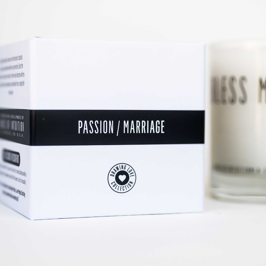 """BLESS ME with ETERNAL LOVE"" Affirmation Soy Candle - House of Intuition"