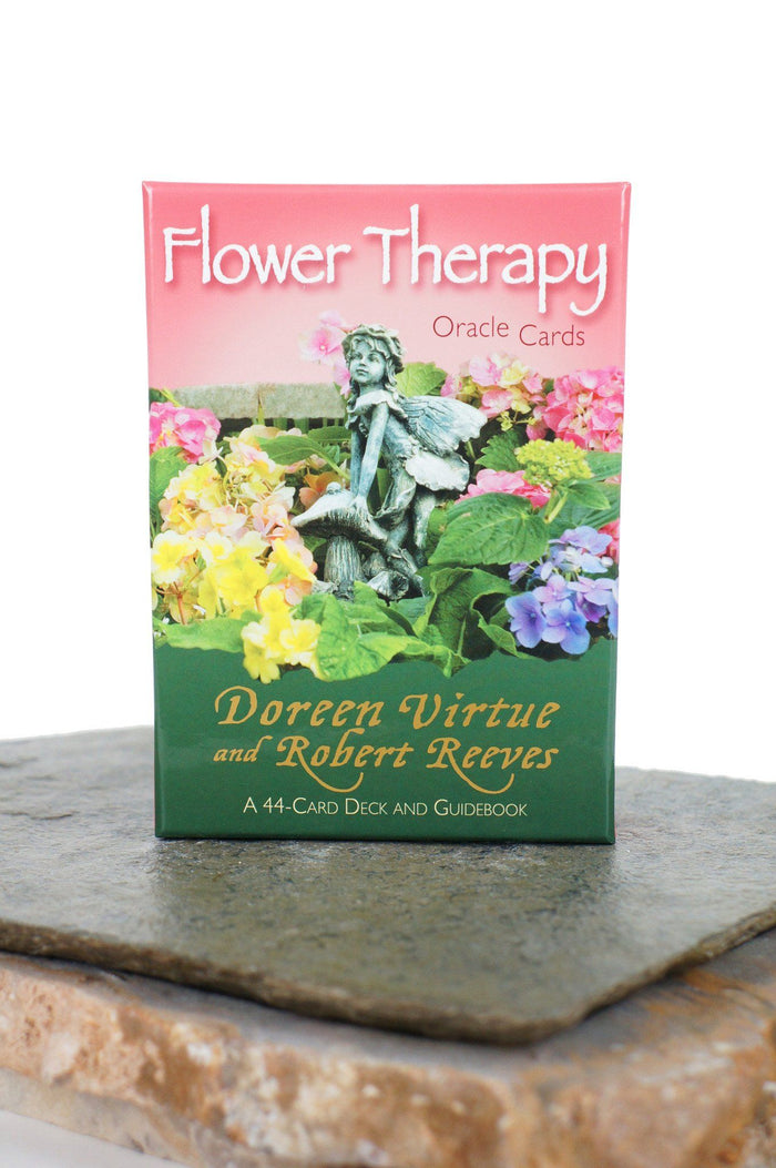 Flower Therapy Oracle Cards - A 44-Card Deck and Guidebook - House of Intuition