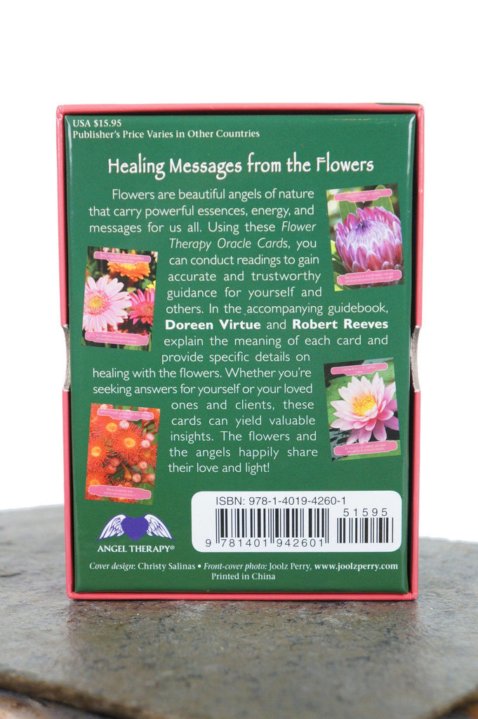 Flower Therapy Oracle Cards Deck - House of Intuition