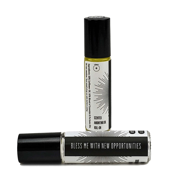 """BLESS ME WITH NEW OPPORTUNITIES"" Affirmation Rollerball"