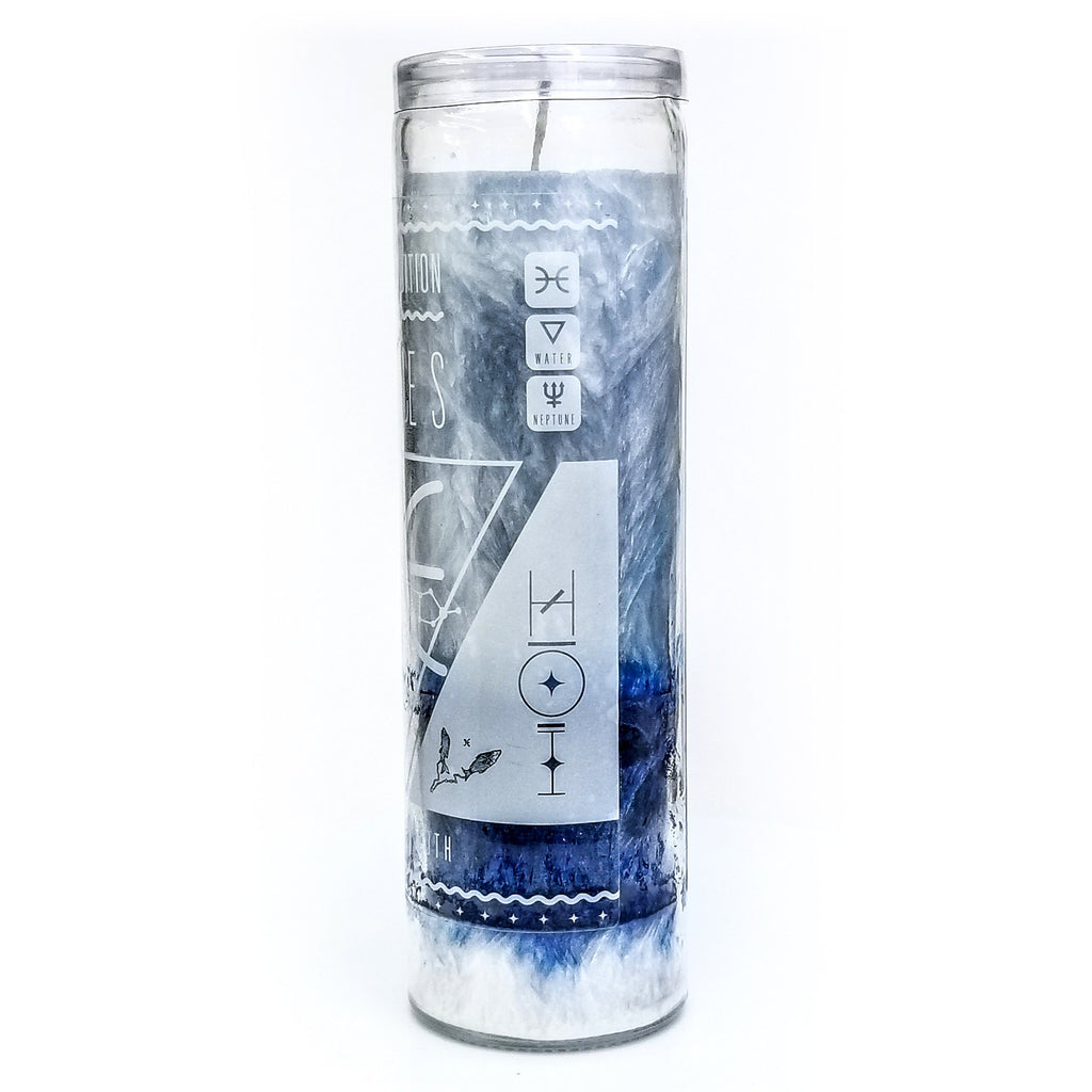 HOI Pisces Zodiac Candle - House of Intuition