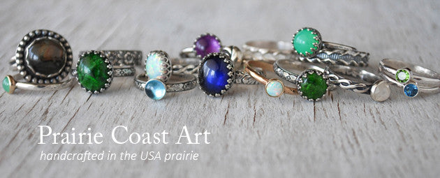 Prairie Coast Art Handcrafted Jewelry