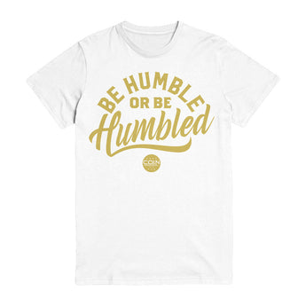 Humble White & Gold T-Shirt
