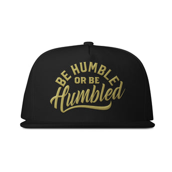 Humble Black & Gold Snapback