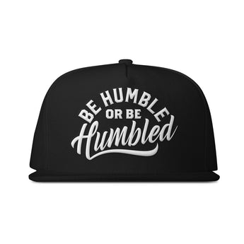 Humble Black & White Snapback