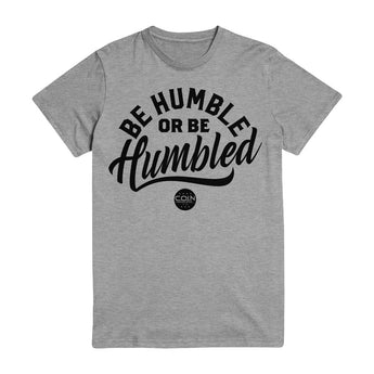 Humble Heather Gray & Black T-Shirt