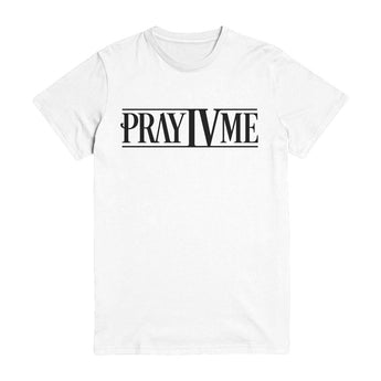 Pray IV Me Bars White T-Shirt