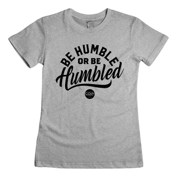Humble Heather Gray & Black Women's T-Shirt