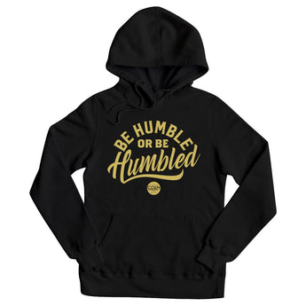 Humble Black & Gold Pullover Hoodie