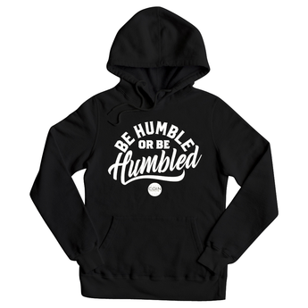 Humble Black & White Pullover Hoodie