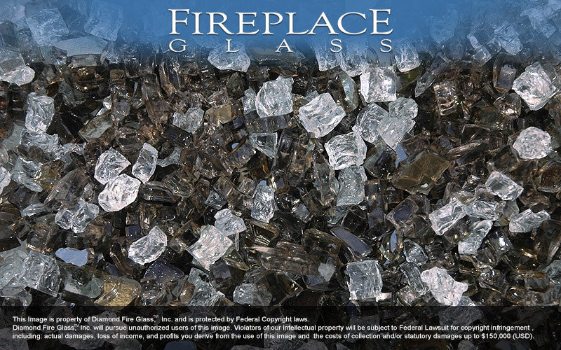 Legacy Premixed Fireplace Glass