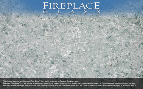 Alpine Nugget Fireplace Glass