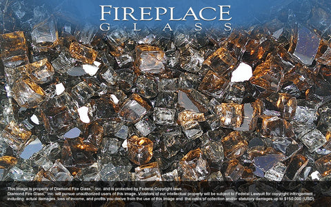 Copper Canyon Premixed Fireplace Glass