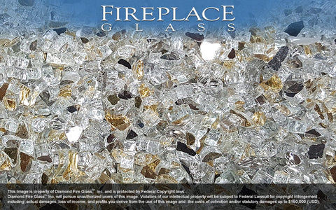 The Emperor Premixed Fireplace Glass