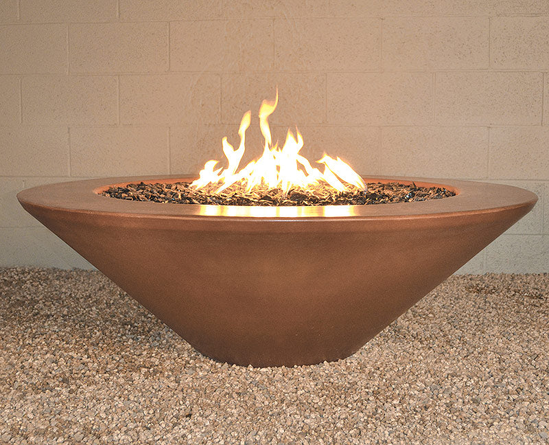 "Geo Round ""Essex"" Fire Pit Table"