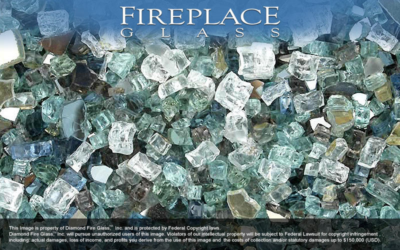 Illustrious Premixed Fireplace Glass