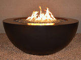 Legacy Round Fire Pit Table by Diamond Fire Glass