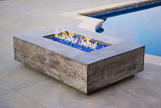 Rincon Fire Pit Table by Diamond Fire Glass
