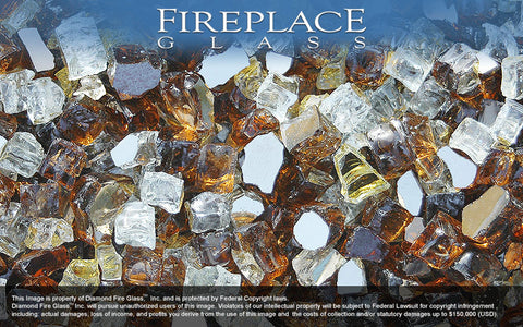 Tuscan Reserve Premixed Fireplace Glass