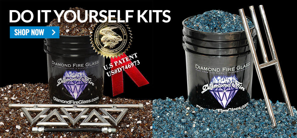 Do It Yourself Fireplace Glass Kits