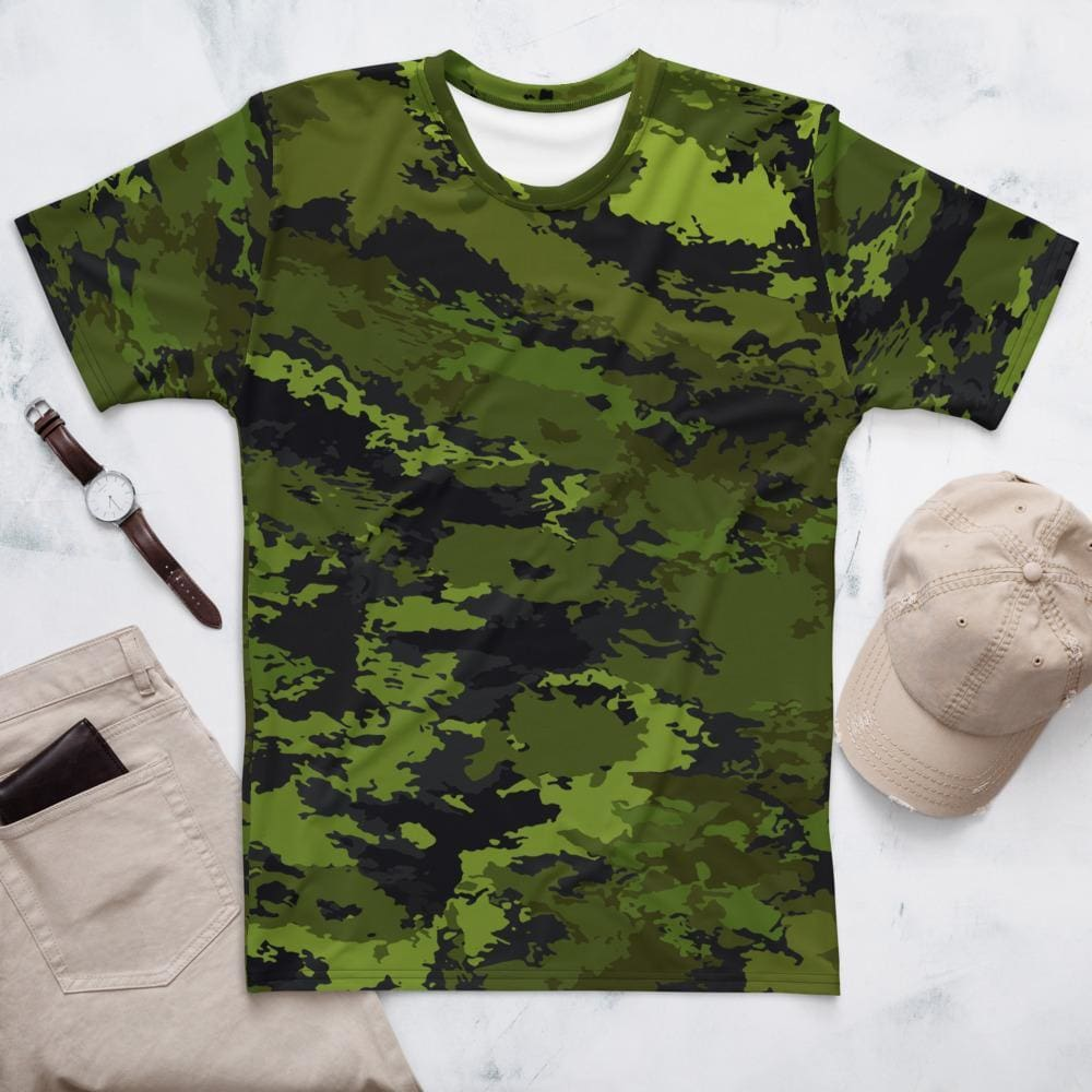 Abstract Tropical CAMO Men's T-shirt - XS