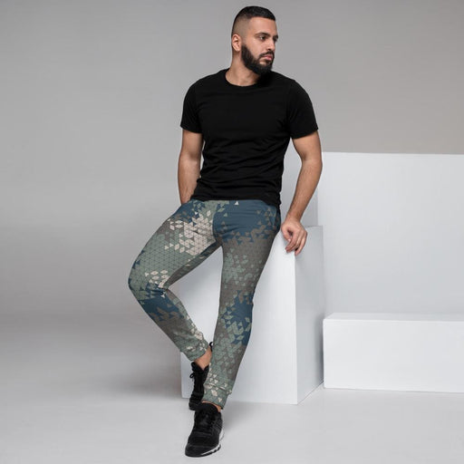 Military Triangle CAMO Men's Joggers - XS