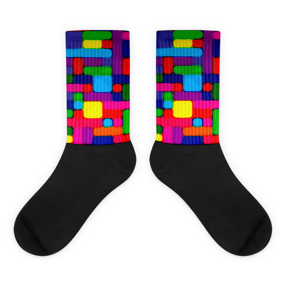 iZoot Black foot socks