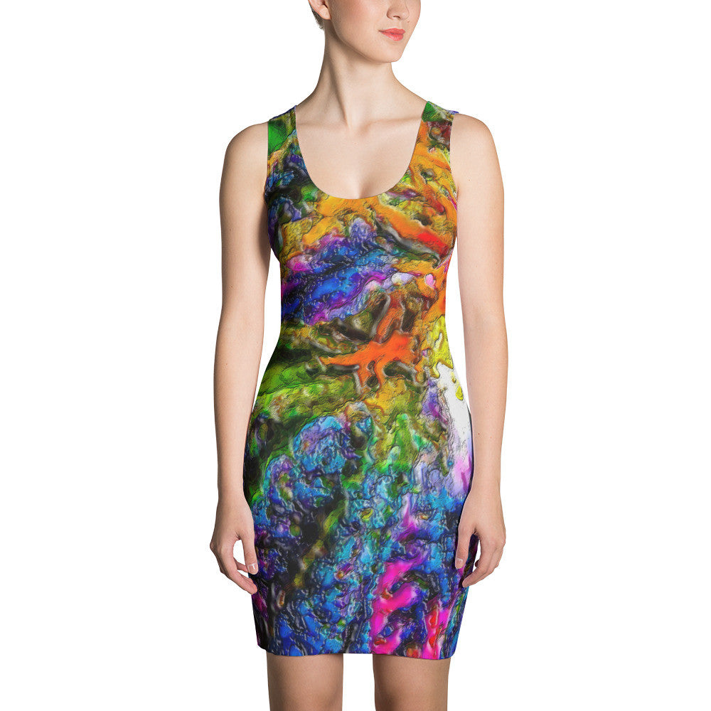 BuddeppoX iZoot Cannabis Collection Sublimation Cut & Sew Dress