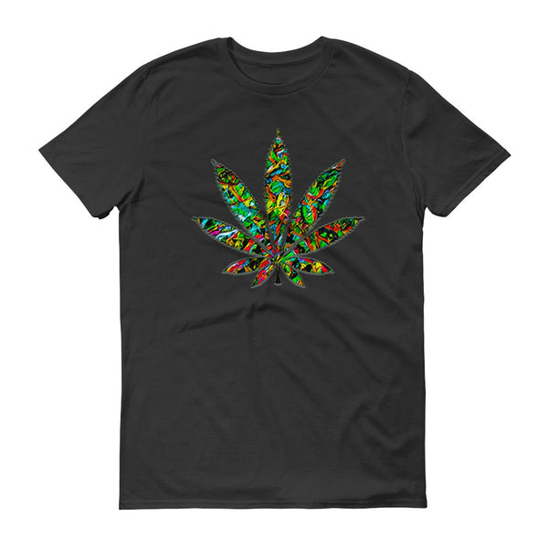 iZoot.com Ganjart 'Cannabisleaf14' Short sleeve t-shirt