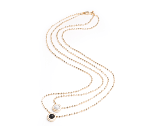 Double Ball Necklace - Slider Image 10