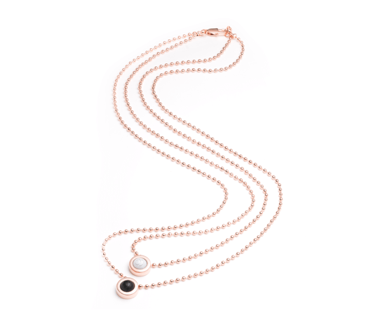 Double Ball Necklace - Slider Image 11