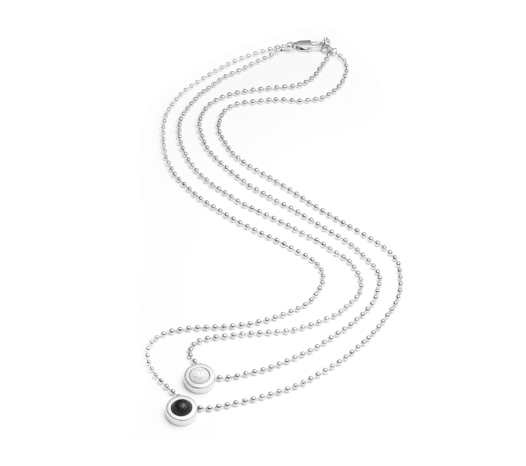 Double Ball Necklace - Slider Image 12