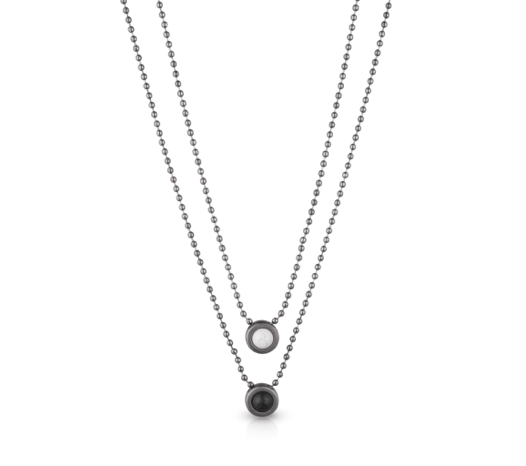 Double Ball Necklace - Slider Image 9