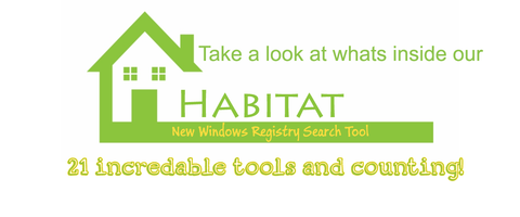 The New Habitat Windows Registry Search Tool Explained