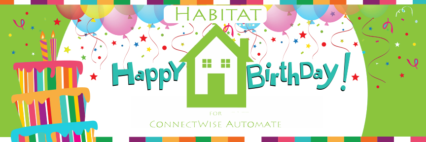 Habitat Turns Two Years Old This Month!