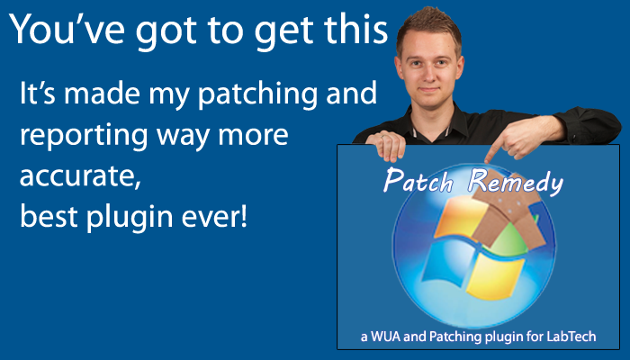 Patch Remedy updated for Windows 10 latest updates.