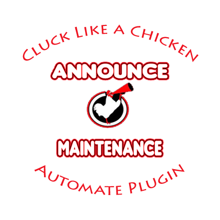 Plugin of the Month - Announce Maintenance