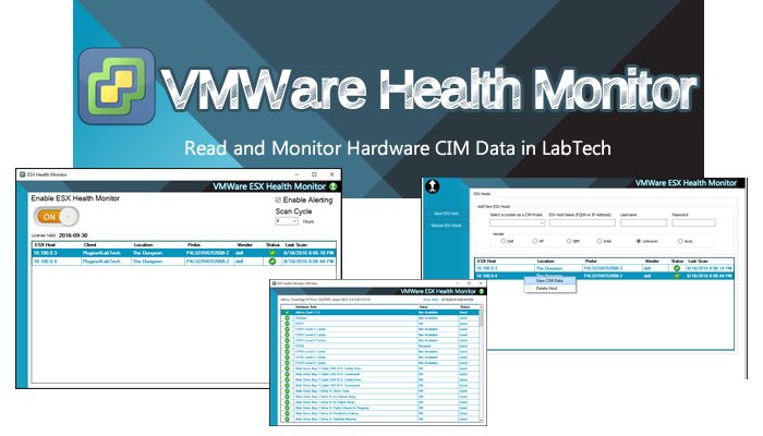 VMWare ESX drive failures getting you down? Health Monitoring made easy!
