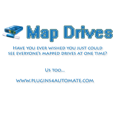Plugin Of The Month - Map Drives Viewer