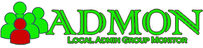 ADMON - Local Admin Group Monitor