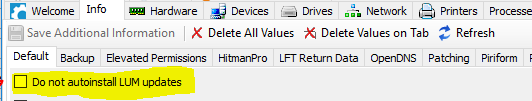 Exclude from installs
