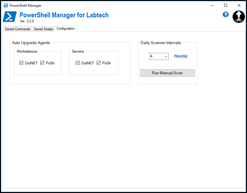 PowerShell Command Manager Plugin for LabTech