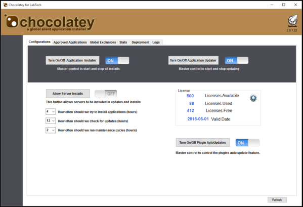Chocolatey for Labtech Agent License (per month)
