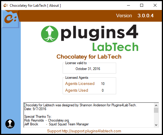 Chocolatey For Automate Agent License (per month)