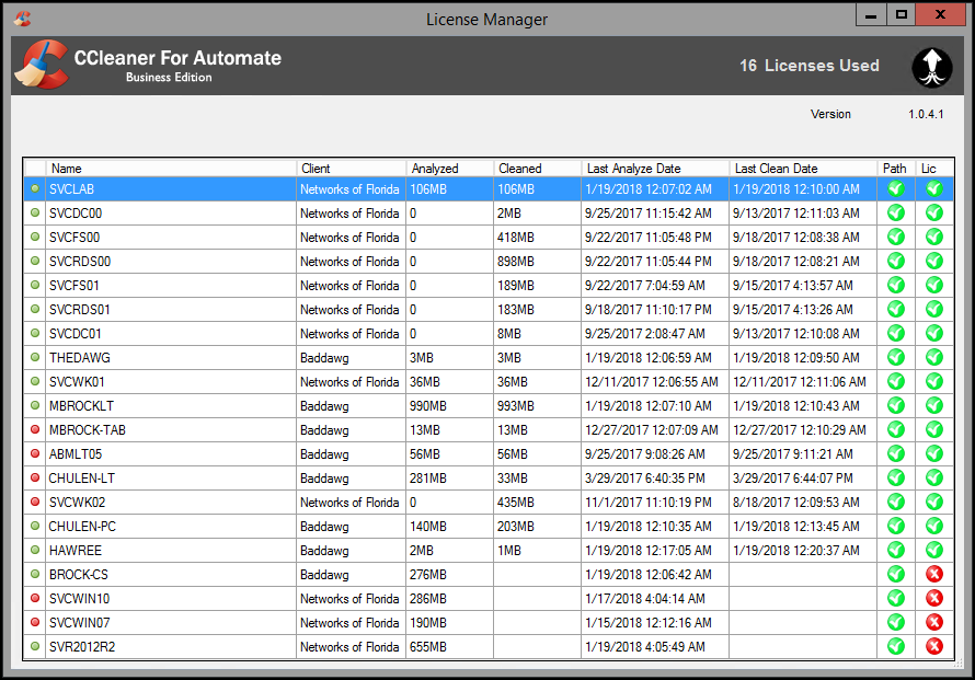 CCleaner Plugin For Automate