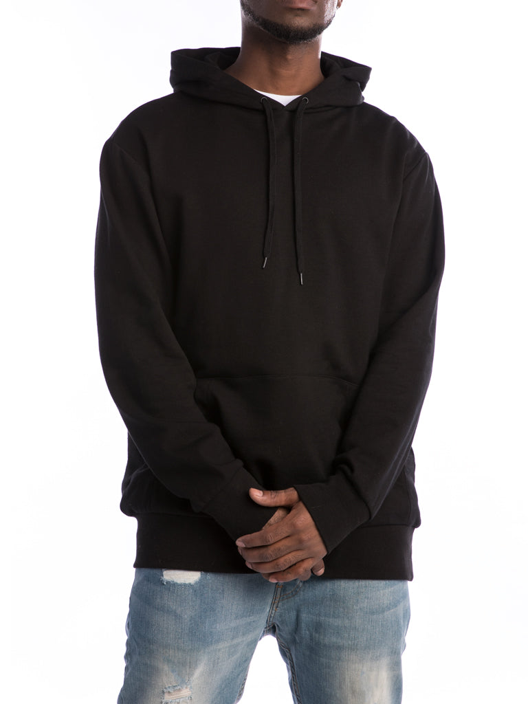 The 24 French Lux Pullover Hoodie in Black