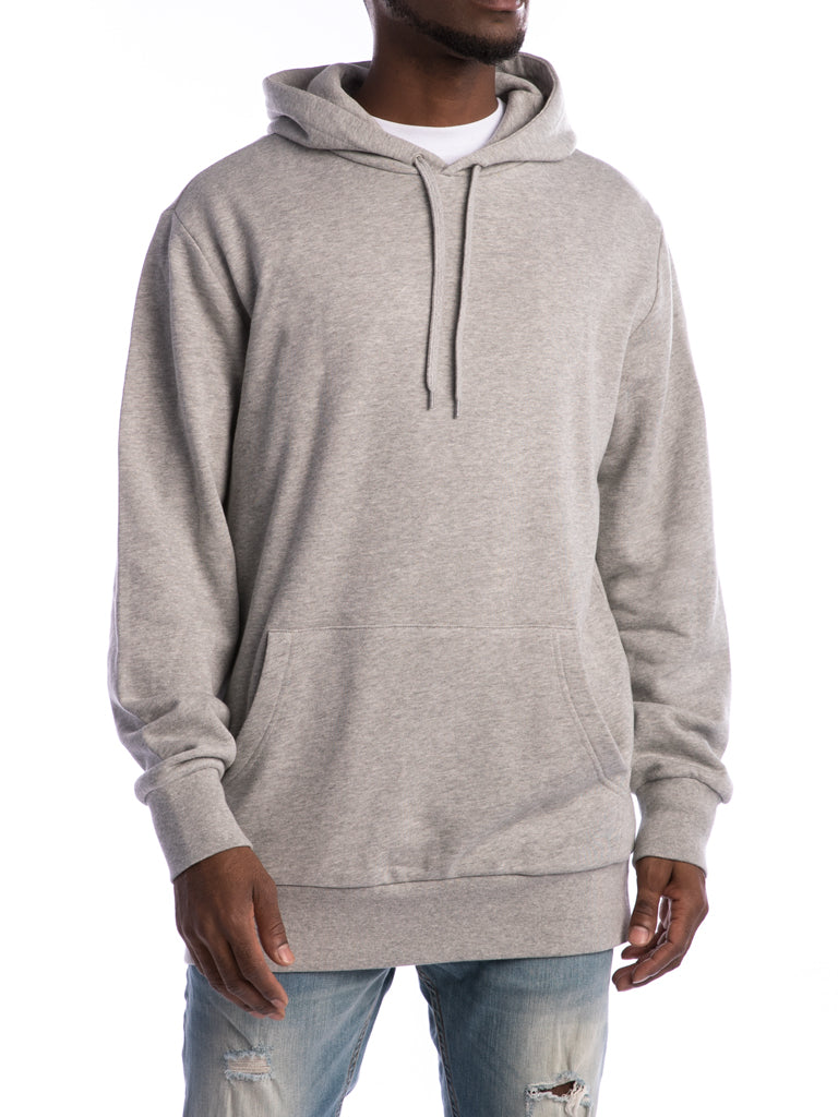 The 24 French Lux Pullover Hoodie in Heather Grey