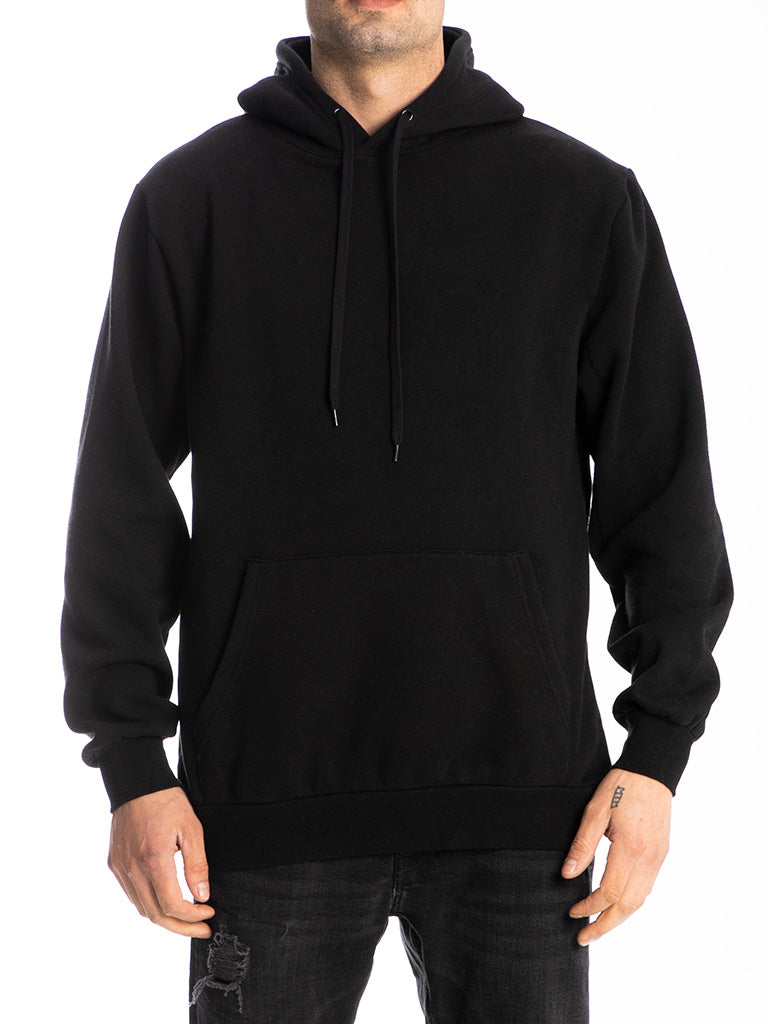 The 24 Blank Premium Pullover Hoodie in Black
